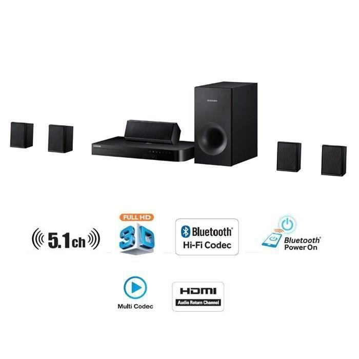 destockage samsung ht j4500 home cin ma 5 1 500w blu ray. Black Bedroom Furniture Sets. Home Design Ideas