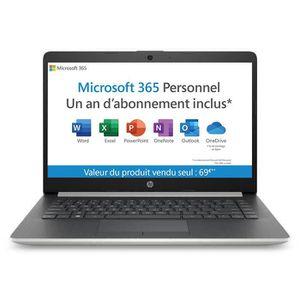 "ORDINATEUR PORTABLE HP PC Portable 14-cm0996nf 14"" HD-AMD A4-9125-RAM"