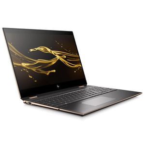 "Top achat PC Portable HP PC Portable Spectre x360 15-df0006nf 15.6"" Tactile FHD - Core i7-8565U - RAM 16Go - SSD 256Go - Thunderbolt - AZERTY - Windows 10 pas cher"