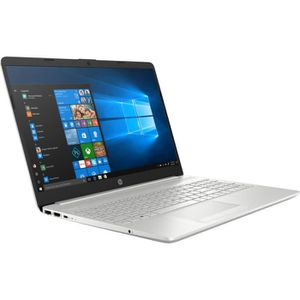 "PC Portable HP PC Portable 15-dw0066nf - 15.6""HD - Processeur Intel® Pentium Gold 4417U - RAM 8Go - Stockage 1To + SSD 128Go - Windows 10 pas cher"