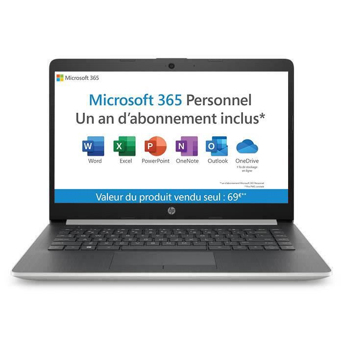 "ORDINATEUR PORTABLE HP PC Portable 14-cm0996nf 14"" HD-AMD A4-9125-RAM"