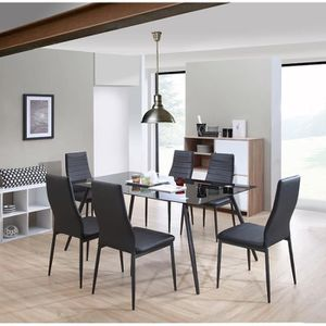 Salle a manger complet achat vente salle a manger complet pas cher cdis - Ensemble table a manger ...