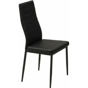 CHAISE SAM Lot de 6 chaises de salle à manger en simili n