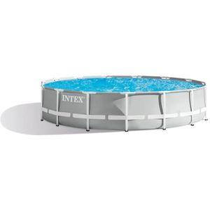 PISCINE INTEX Kit piscine tubulaire Prism Frame - 457 x 12