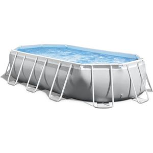 PISCINE INTEX Kit piscine tubulaire Prism Frame - 5,03 x 2