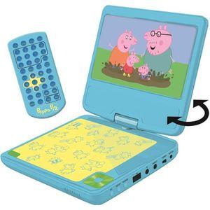 LECTEUR DVD ENFANT LEXIBOOK Peppa Pig Lecteur DVD portable pour enfan