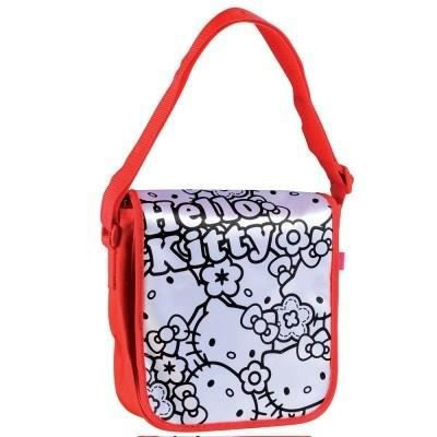 Hello kitty sac bandouli re colorier achat vente support d corer color me mine sac - Colorier kitty ...