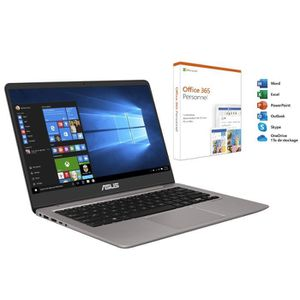 ORDINATEUR PORTABLE PC portable ASUS ZenBook UX410UA-GV596T 14'' Full