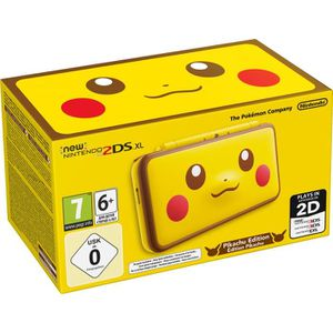 CONSOLE NEW 2DS XL New Nintendo 2 DS XL Pikachu Edition