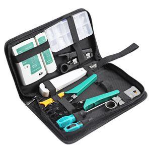 PACK RÉSEAU 11 in 1 Kit professionnel l'outil de réparation de