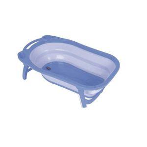 BAIGNOIRE  Baignoire pliable Baby Fox - Bleu transparent