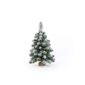 SAPIN - ARBRE DE NOËL Sapin de Noël artificiel en PVC et ciment - 60 cm