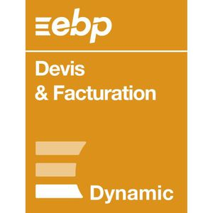 BUREAUTIQUE EBP Devis & Facturation DYNAMIC 12 mois + VIP - De