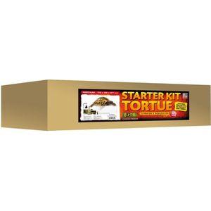 VIVARIUM - TERRARIUM Kit Complet Tortue Terrestre 79x39x27cm
