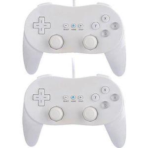 MANETTE JEUX VIDÉO 2 x Classic Controller Pro Manette de jeu pour Nin