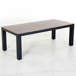 Table de jardin Seal Cay - Noir - Achat / Vente table de ...