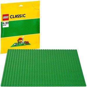 ASSEMBLAGE CONSTRUCTION LEGO® Classic 10700 La plaque de base verte-jeu de