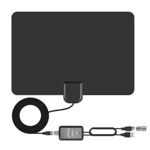 ANTENNE RATEAU Antenne TV  TV numérique HD Signal super fort Inté