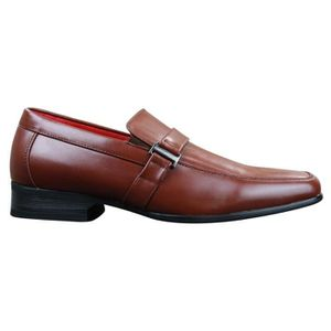 MOCASSIN Mocassins homme marron clair chic formel professio