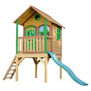 MAISONNETTE EXTÉRIEURE AXI Maisonnette Enfant Cabane en bois Laura