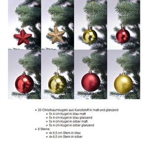 Décoration de Noël-Lot de 12 flocon de neige 40 mm Jingle Bell Boules-or
