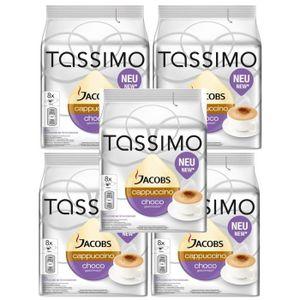 CAFÉ TASSIMO Jacobs Cappuccino Choco 40 Dosettes