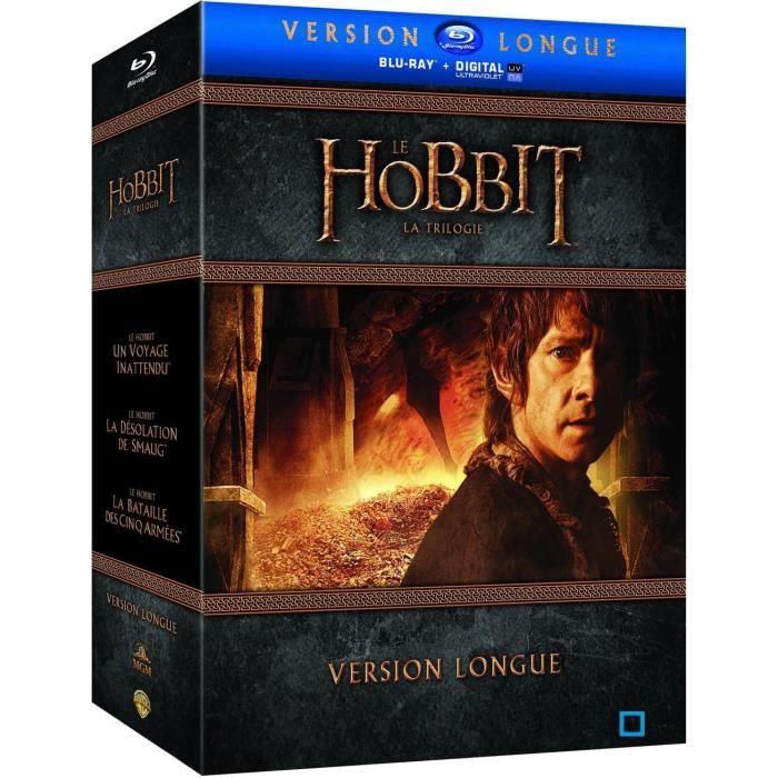 BLU-RAY FILM Blu-ray Coffret Le Hobbit : La Trilogie (Version l