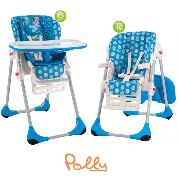 Chicco chaise haute polly 2 en 1 moon moon achat vente - Chicco chaise haute polly 2 en 1 ...