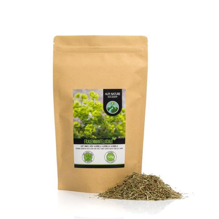 Infusion Alchémille (125g), Tisane Alchémille, thé Alchémille, coupé, déshydratée en douceur, 100% pur et naturel