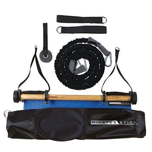 Peak Pilates PSBASICKITREV2 Kit de pilate Noir 74 x 14 x 14 cm - PSBASICKITR2