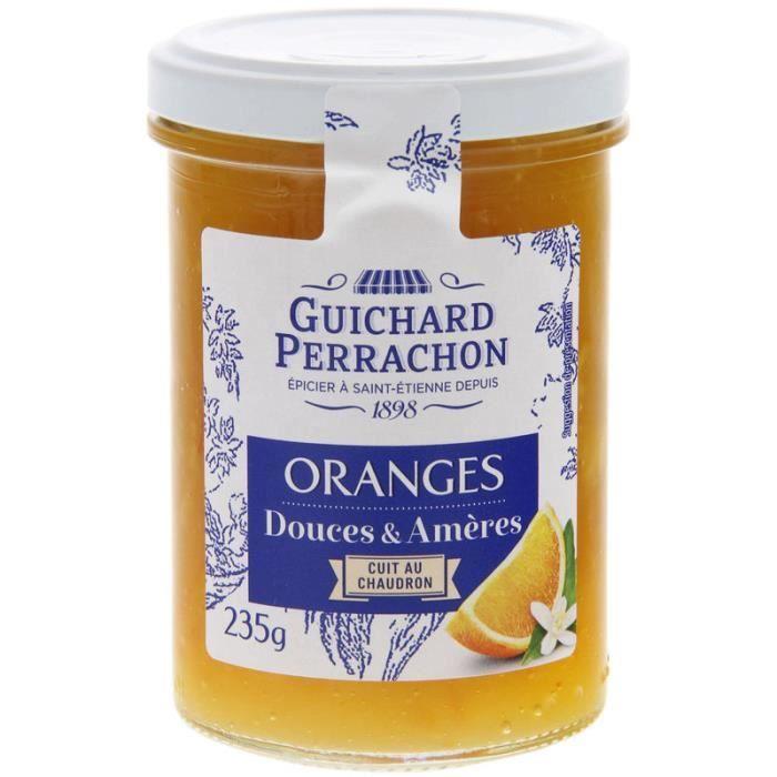 GUICHARD PERRACHON Confiture d'Oranges Douces Amères - 235 g