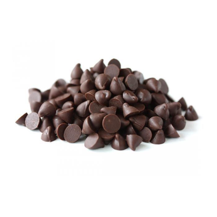 Pépites de chocolat 72% - Aurore Market - VRAC - 250 g BIO