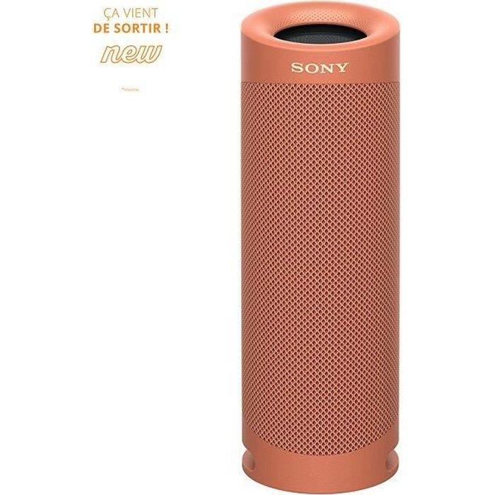 SONY SRSXB23R Enceinte Bluetooth - Autonomie 12h - Splash proof - Rouge