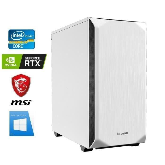 Pc Gamer I9 9900K Geforce Rtx 2070 8Go 32Go Ram Ssd 960Go Wifi Be Quiet! Pure Base 500 Windows 10