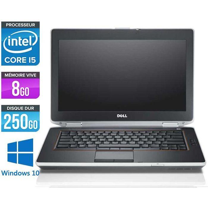 Dell E6420 -Core i5 2,5GHz -8Go -250Go -Windows 10