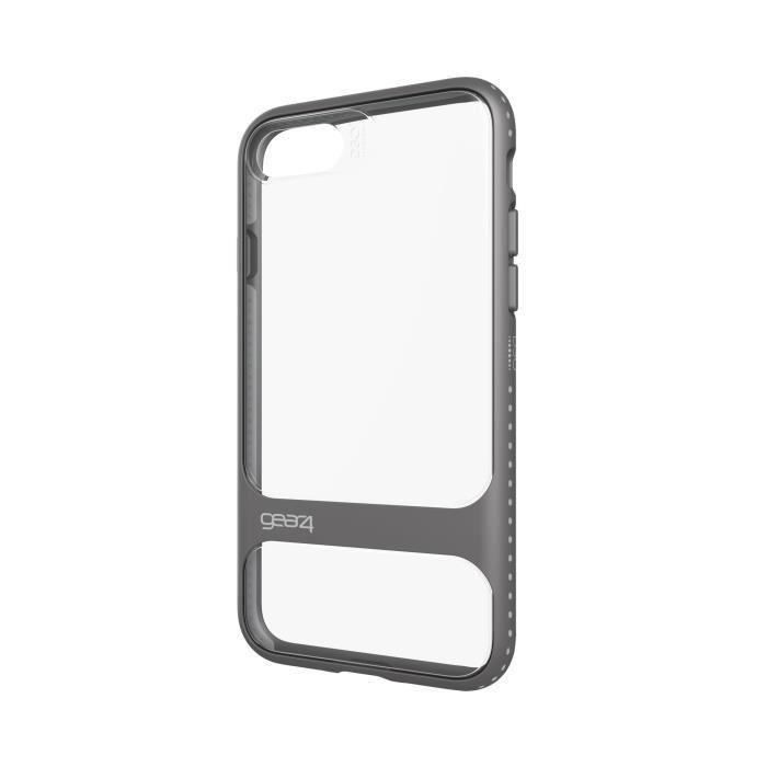 GEAR4 D3O Soho Coque - iPhone 7 - Argent