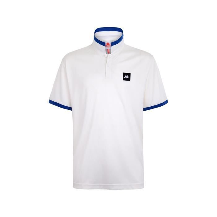 Kappa - Polo Coby Authentic Blanc