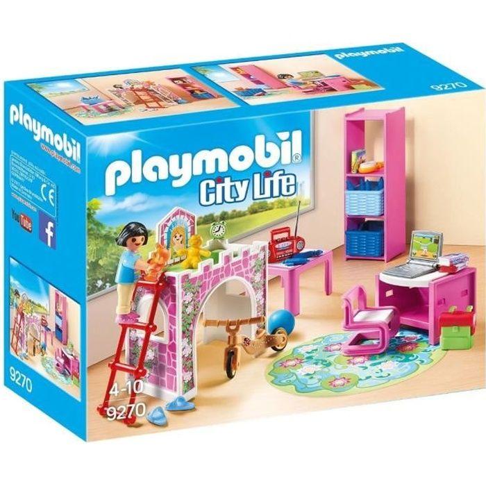 PLAYMOBIL 9270 - La Maison Moderne - Chambre d'Enfant