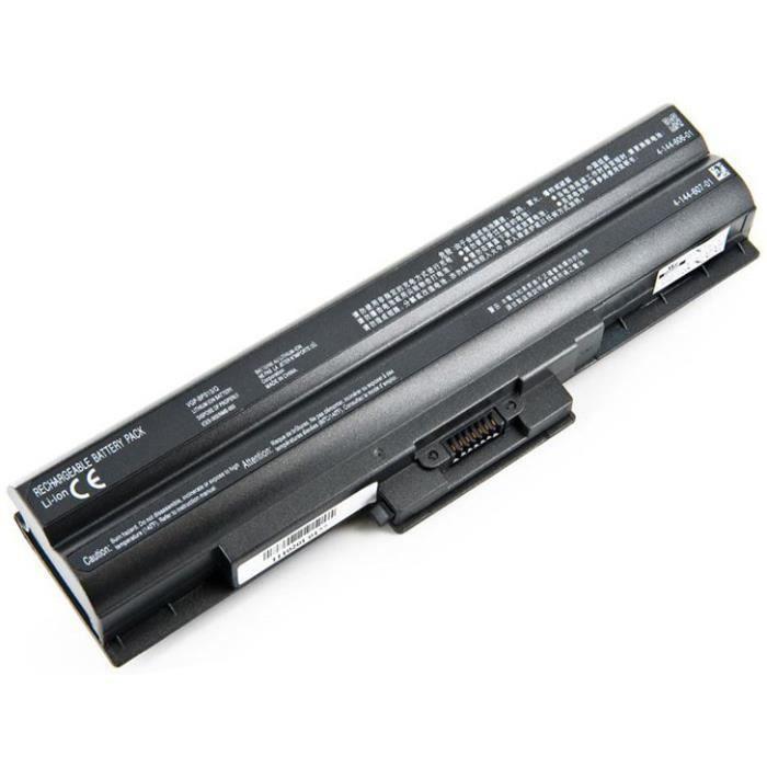 Batterie pour SONY VAIO VGN-NS11S/S - 4800mAh - 11.1V - Li-ion