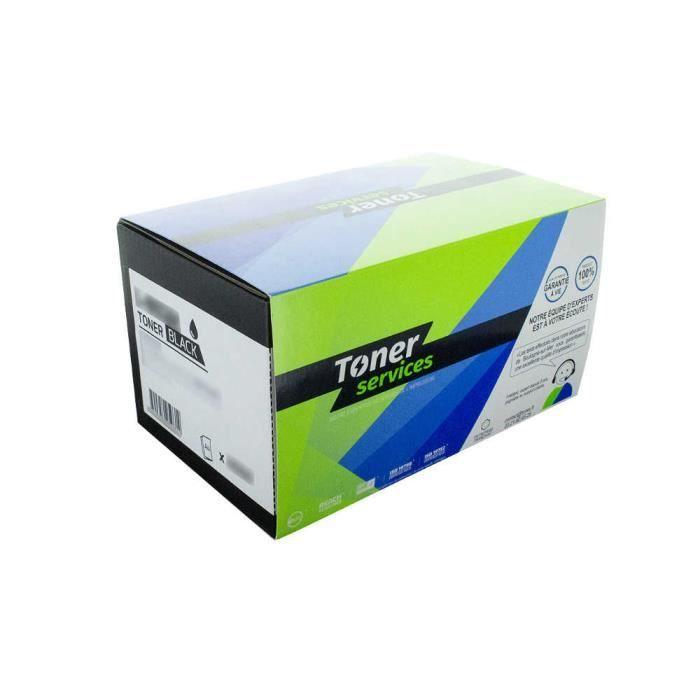 Pack de 2 Toners Laser Noirs marque Toner Services - Sagem TNR250 2x1500
