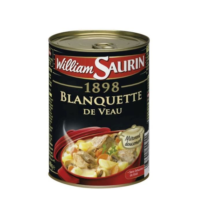 WILLIAM SAULIN Blanquette de veau - 400 g