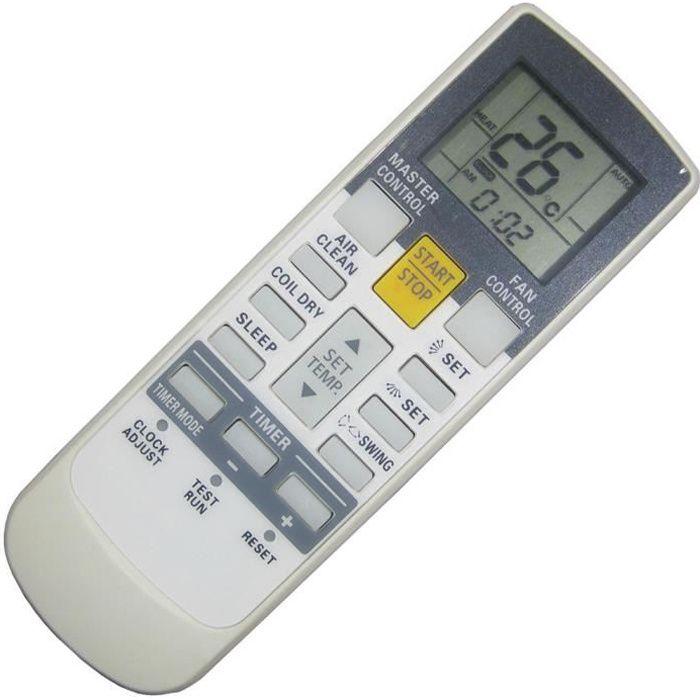 Télécommande Convient pour Fujitsu AR-AB8 AR-AB10 AR-AB9 AR-AB24