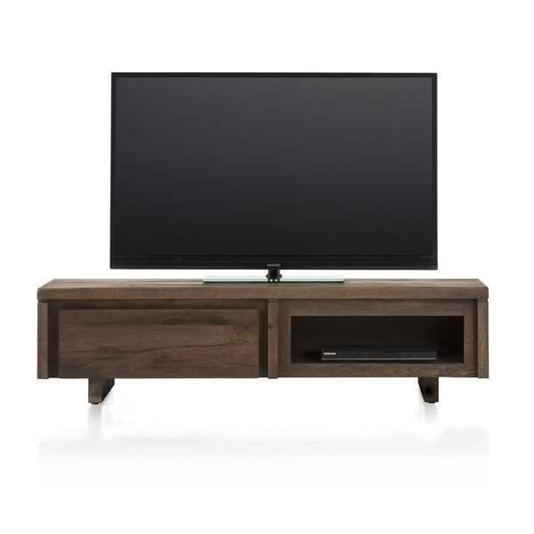 meuble tv 140 cm ch ne massif more ii h h achat vente. Black Bedroom Furniture Sets. Home Design Ideas