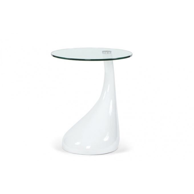 Table d 39 appoint design snoopy blanc achat vente table for Table d appoint lit