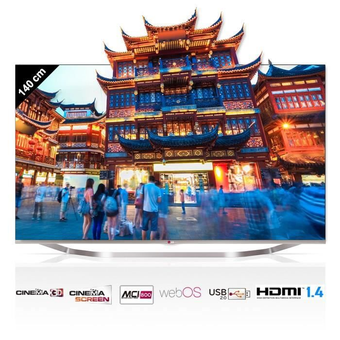 lg 55lb700v smart tv full hd 3d 140 cm t l viseur led. Black Bedroom Furniture Sets. Home Design Ideas