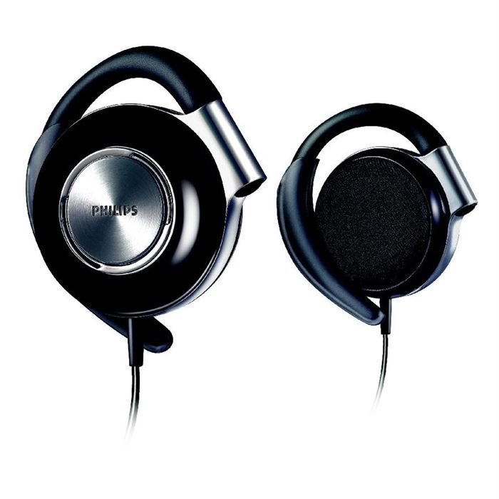 Philips Shs4700 Ecouteurs Clips On Bass Beat Noir Casque