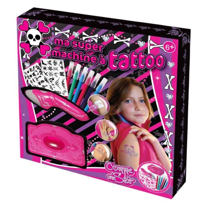 Ma super machine tatoo gothique achat vente kit cr ation parfum machine tattoo gothique - Machine a cafe enfant ...