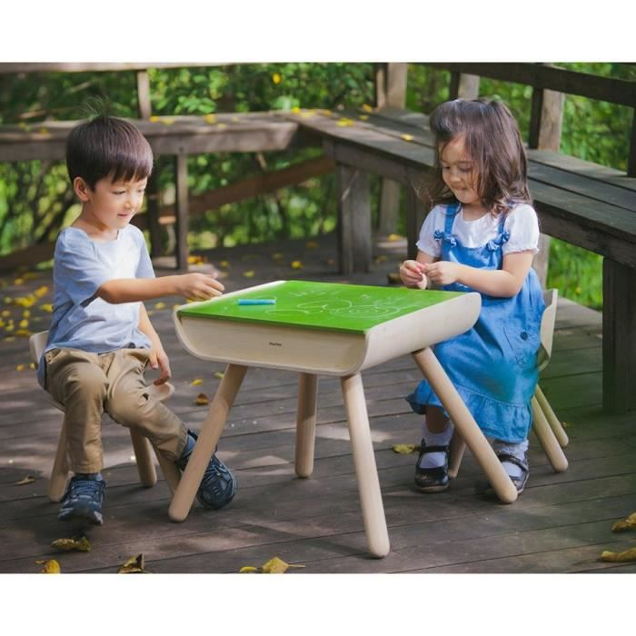 Plan toys table et chaise achat vente bureau b b for Table et chaise bebe 2 ans