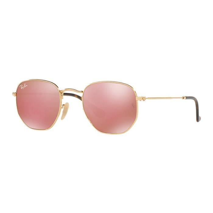 lunette de soleil ray ban dore