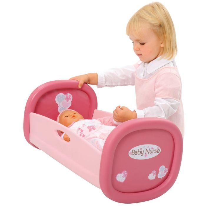 ACCESSOIRE POUPON BABY NURSE Lit à Bascule pour Poupon